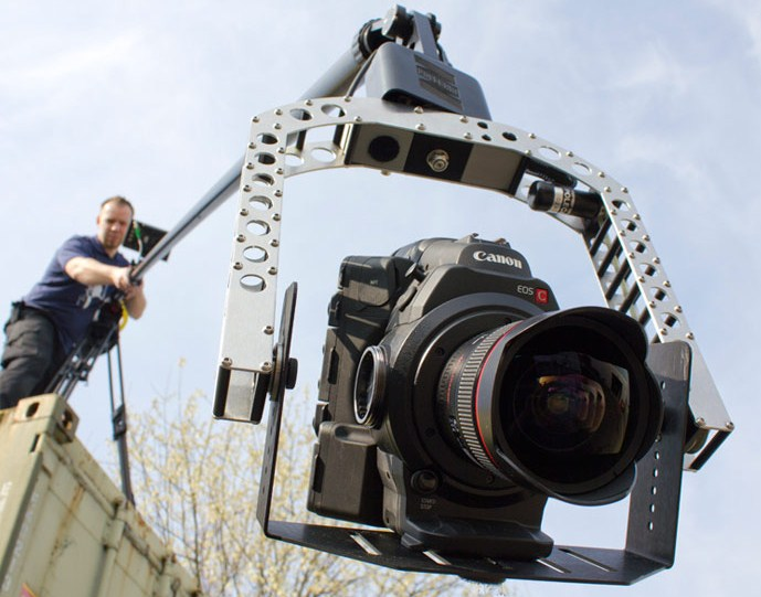 Crane shots with the Canon C300