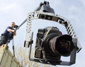 C300 camera on Polecam