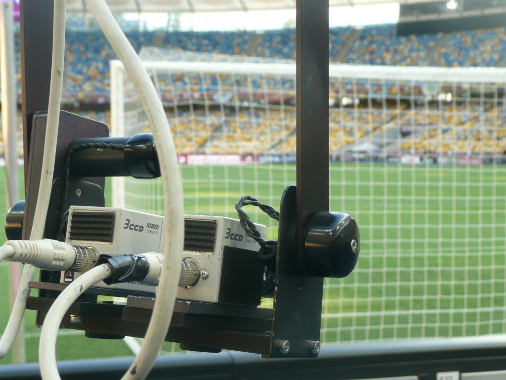Polecam with Toshiba minicams shooting 3D